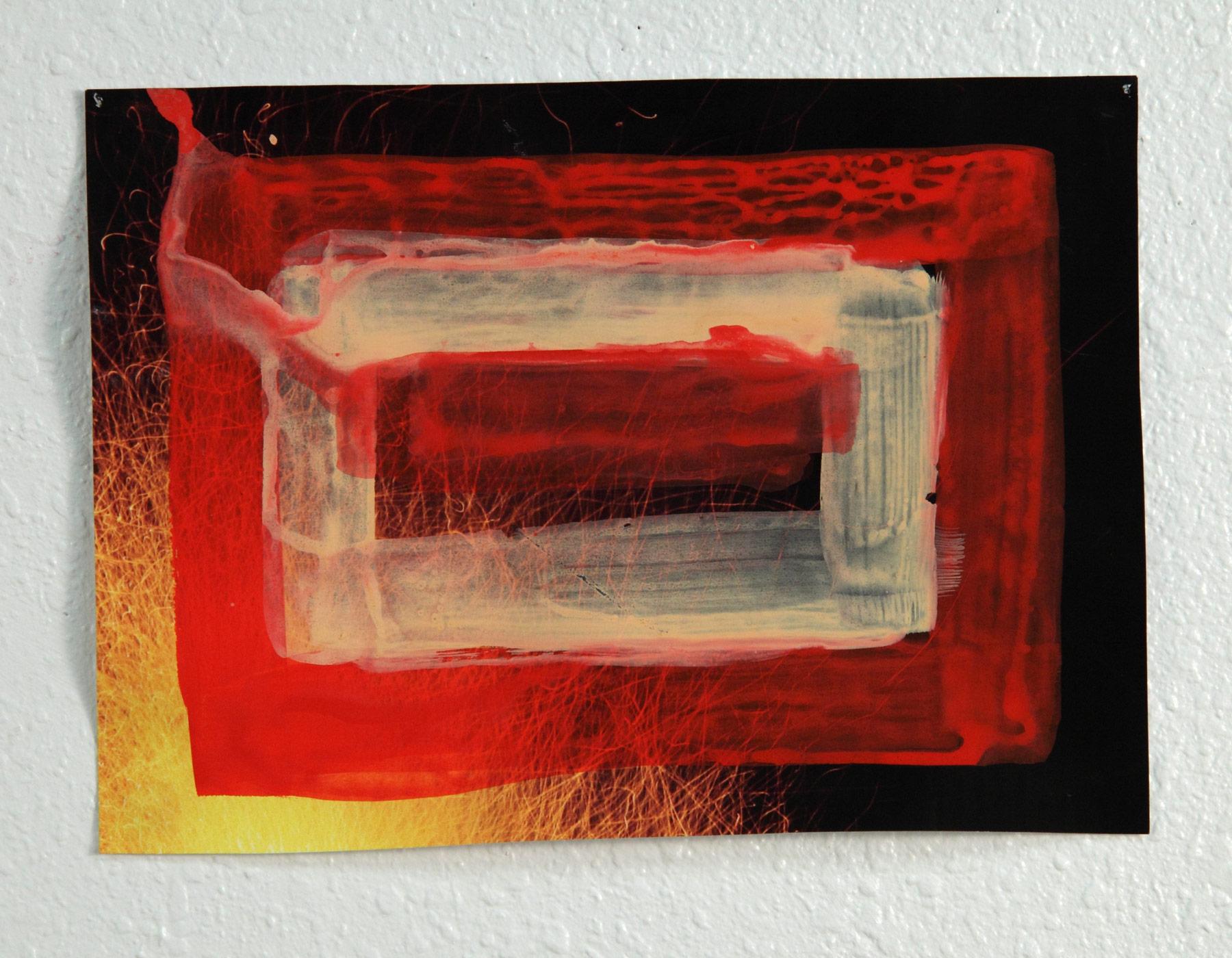 Fire Watercolor