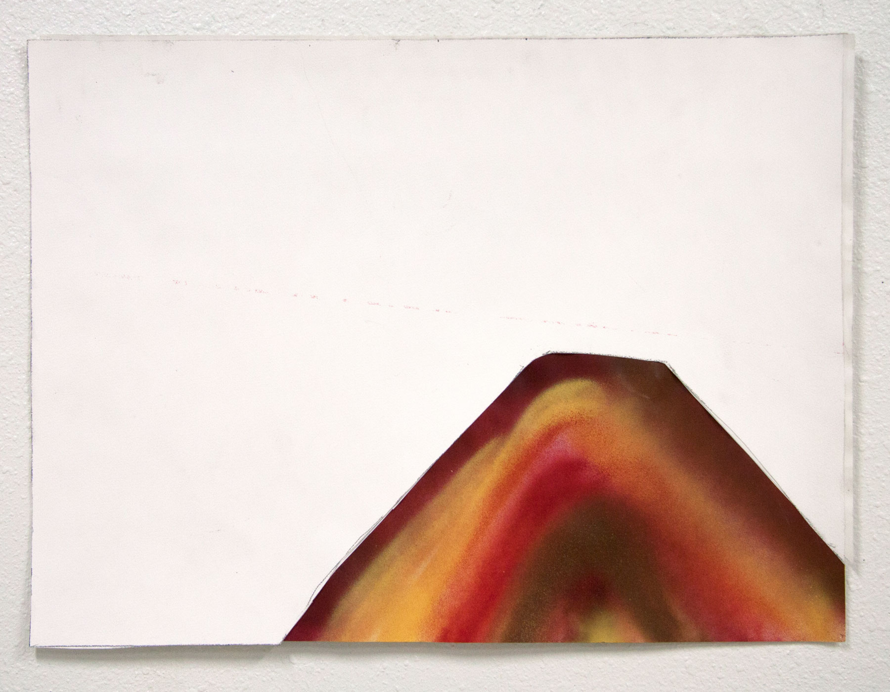 Untitled (Red Mountain)