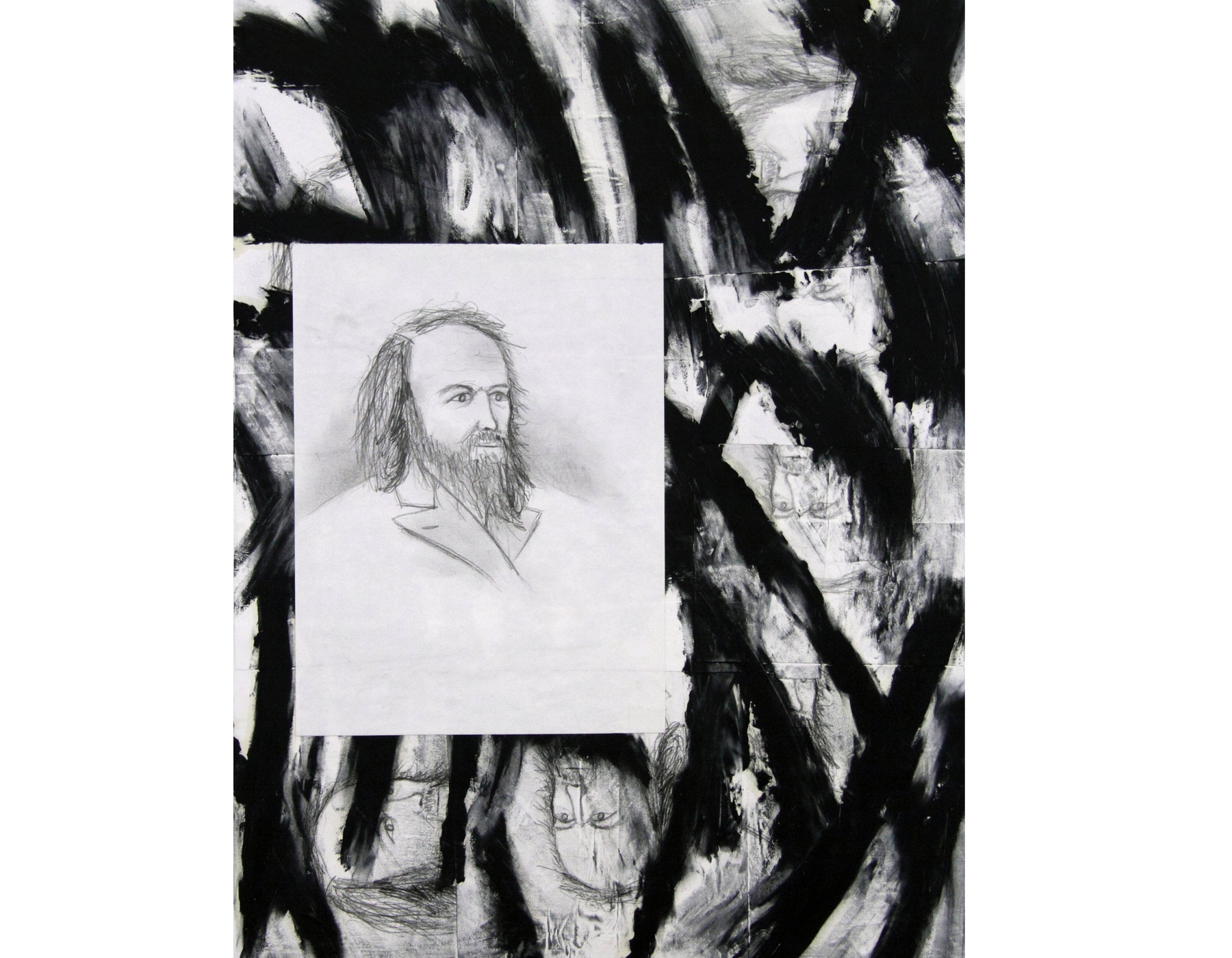 Portrait of Dimitri Ivanovich Mendeleev, father of the Periodic Table
