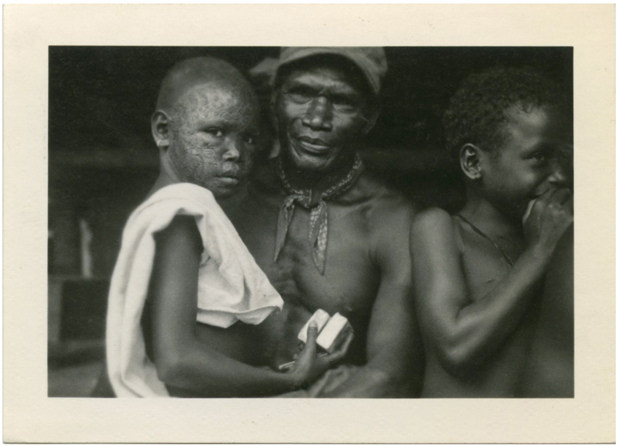 The location of this photograph is unknown, but it depicts the tradition of African scarring. The tonalities of this image is just superb.