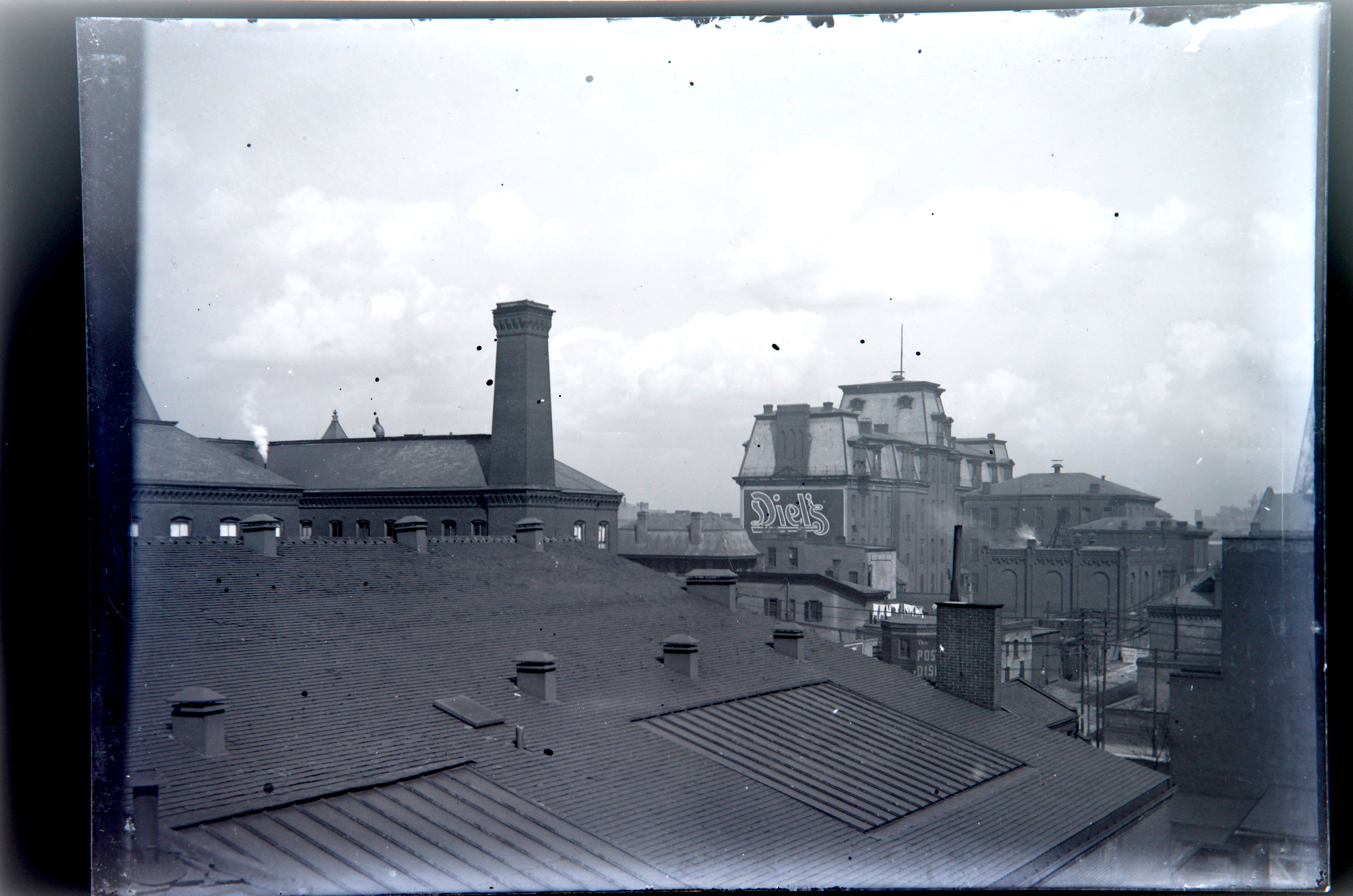 St. Louis, 1900. View from the roof.