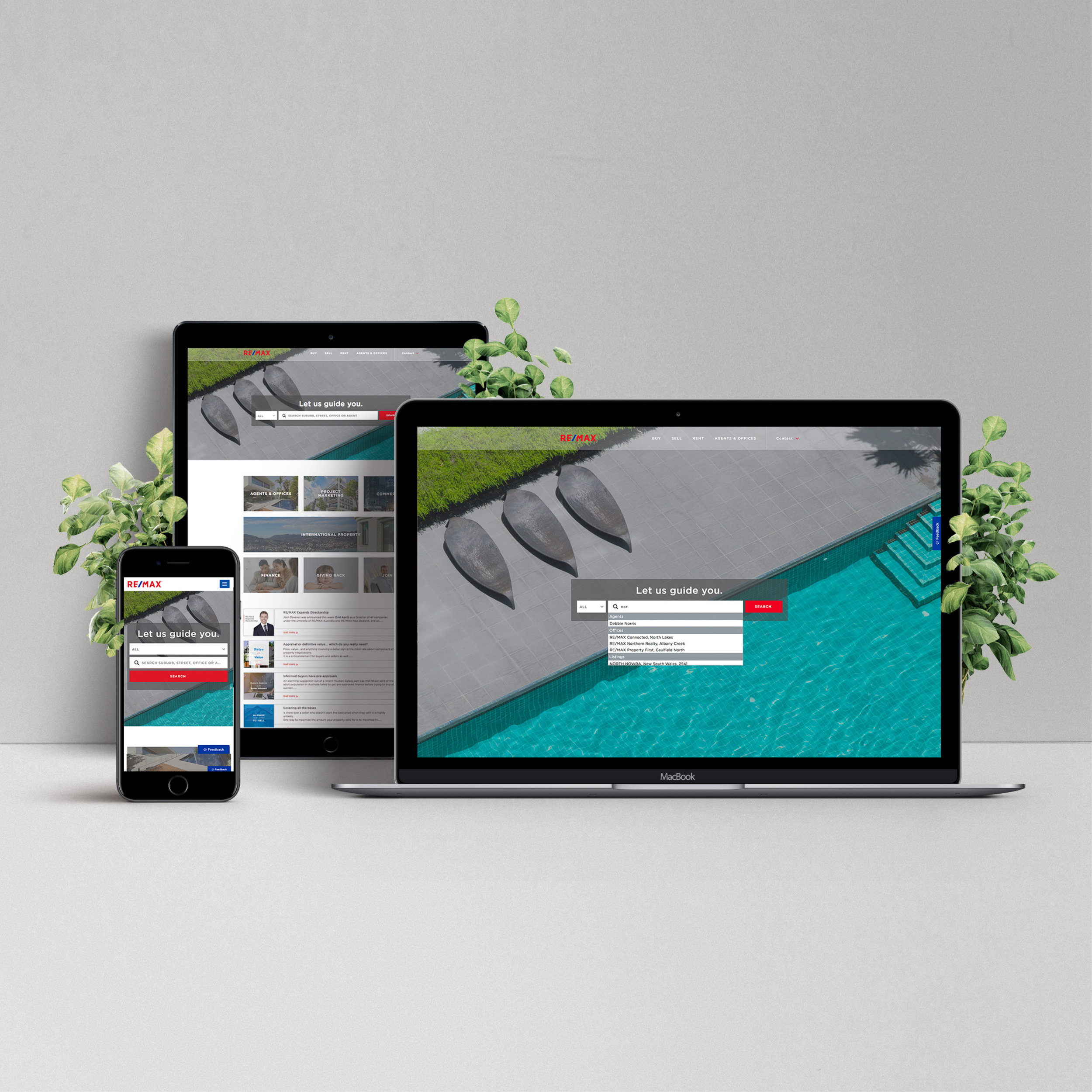 RE/MAX Australia & RE/MAX New Zealand website re-design