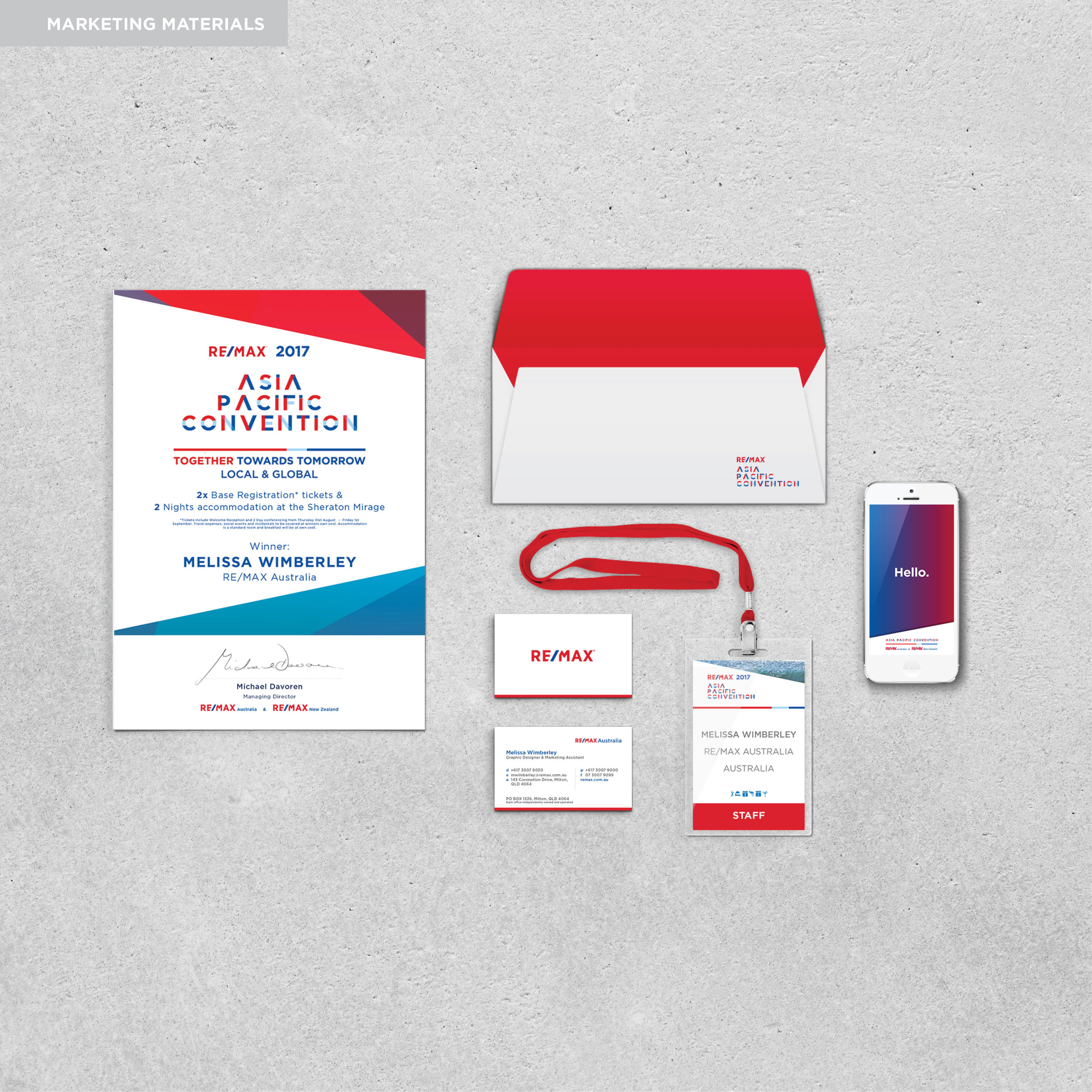 Asia Pacific Convention - Branding