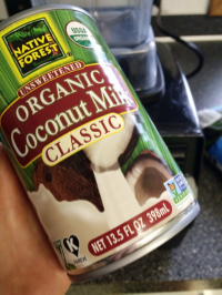 I prefer organic coconut milk (and organics whenever possible!), but especially with coconut milk & milk substitute products because of the potential for nasty additives