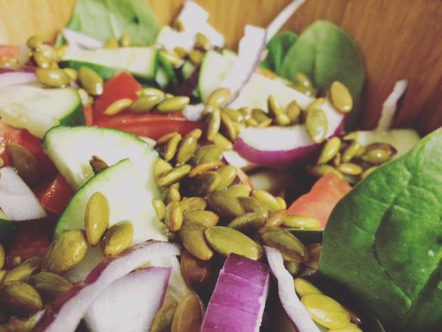 spinach artichoke salad