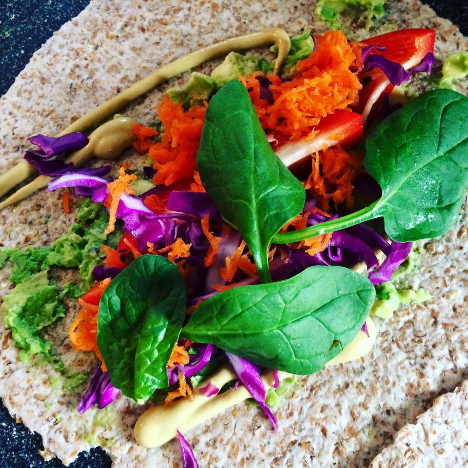 sprouted wrap
