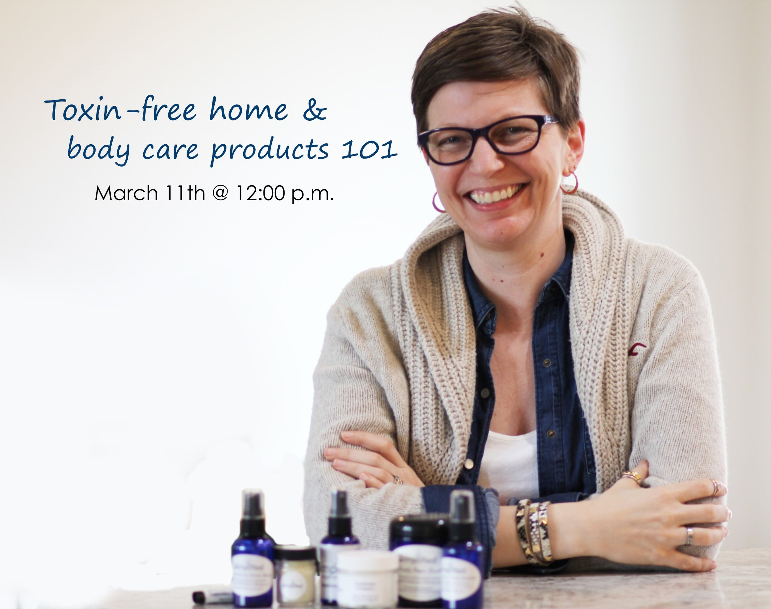 Hosted by a local certified aromatherapist, Danielle Small