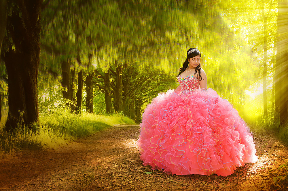 Xiomara - Houston Quinceañera Photographer - Lunabela Photography