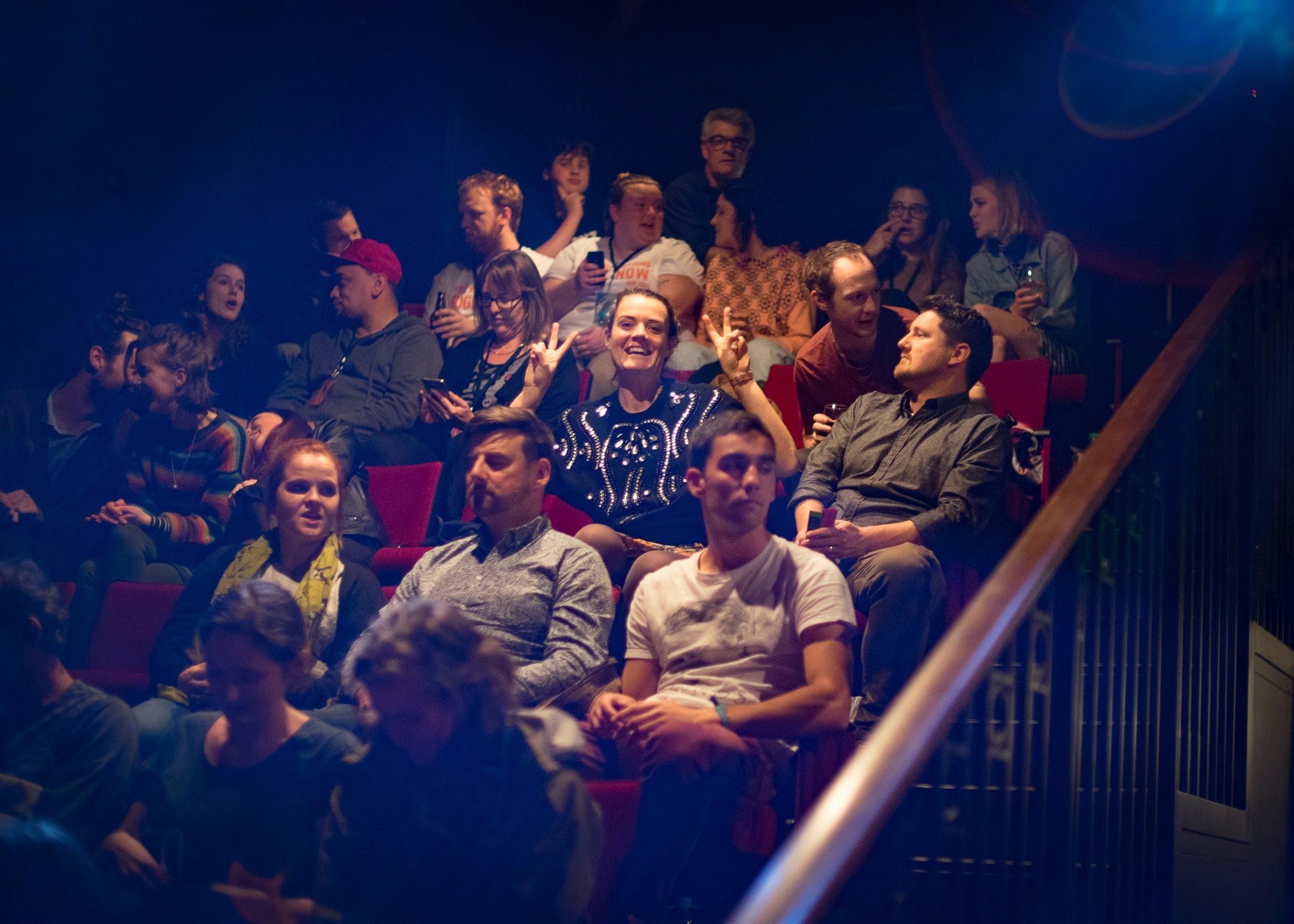Audience, NZIF 2016