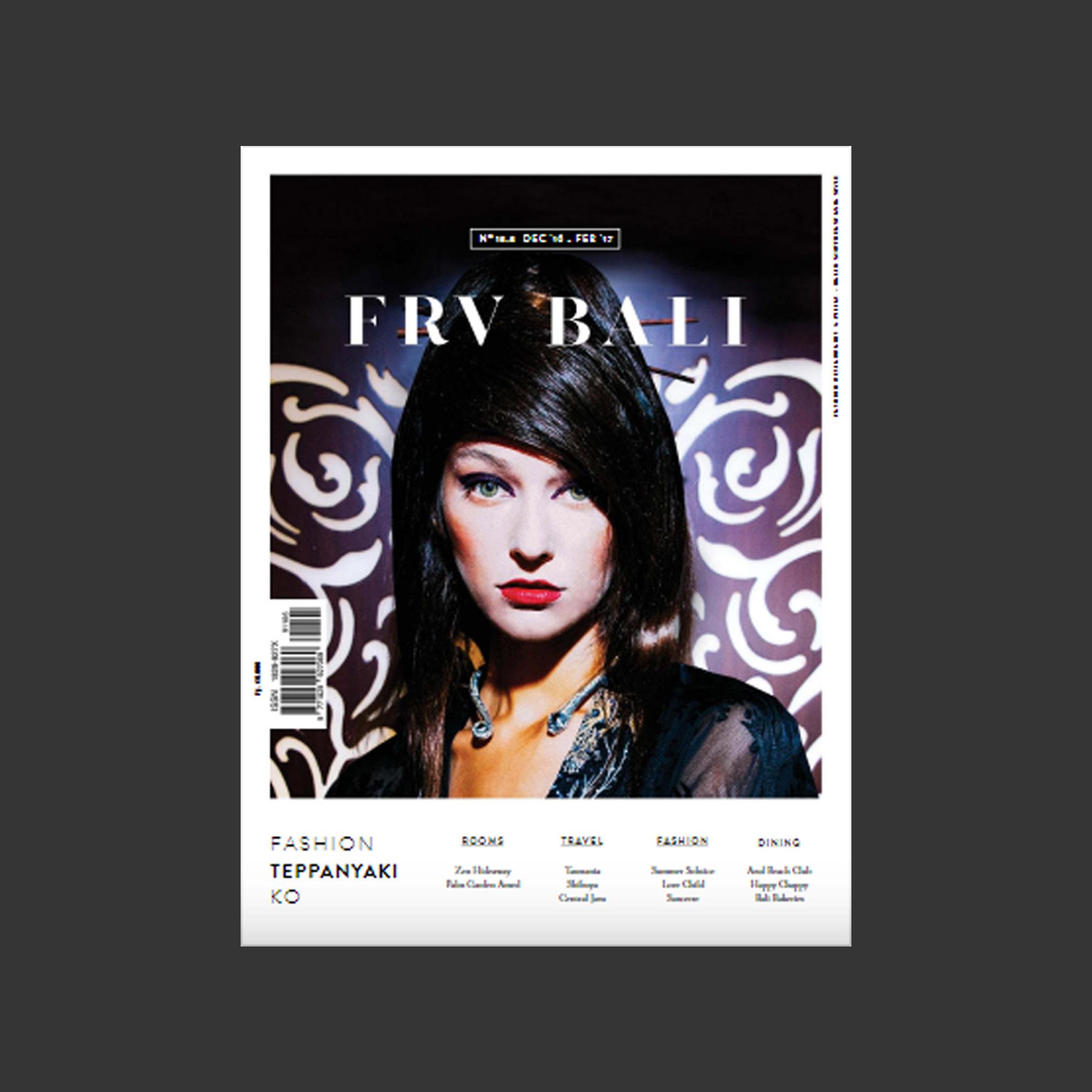 FRV Bali 13 3 Dec 2016-Feb 2017
