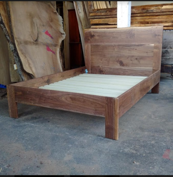 Classic Walnut Bed