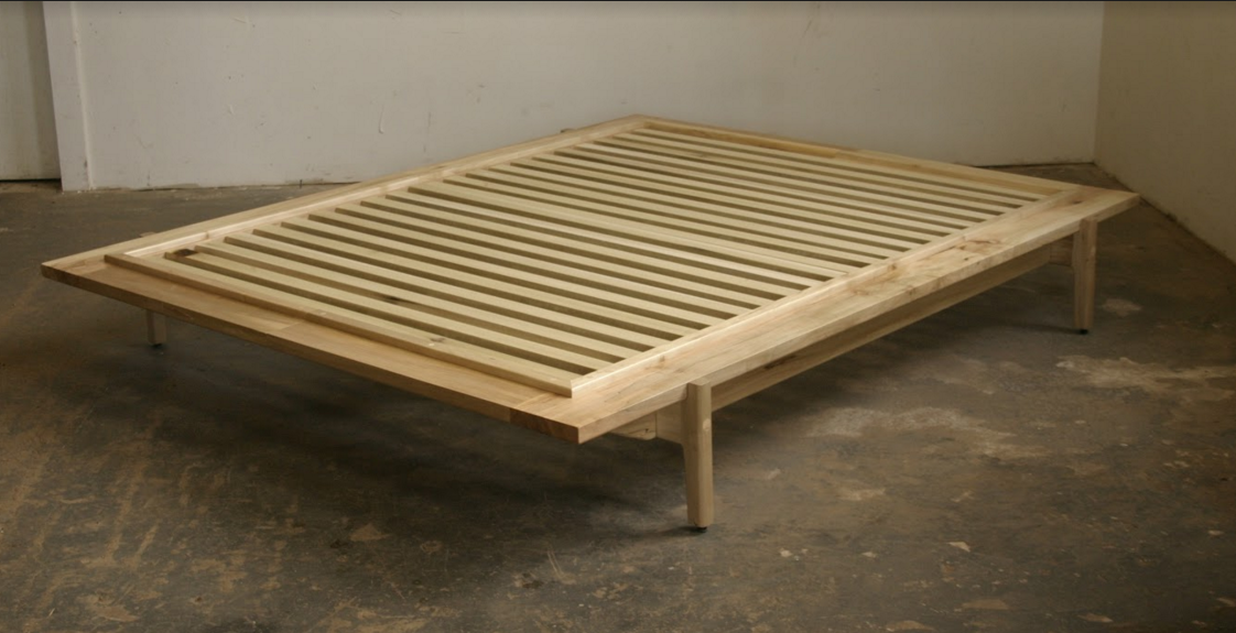 Maple Platform Bed