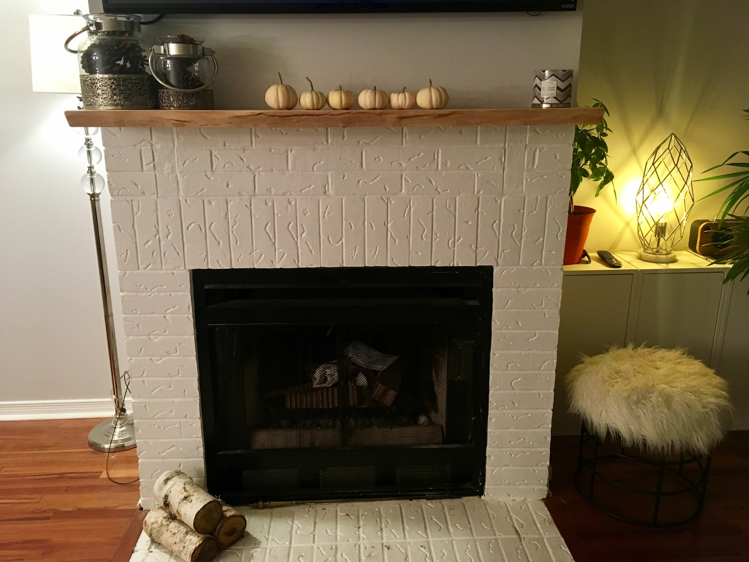 Floating Mantel