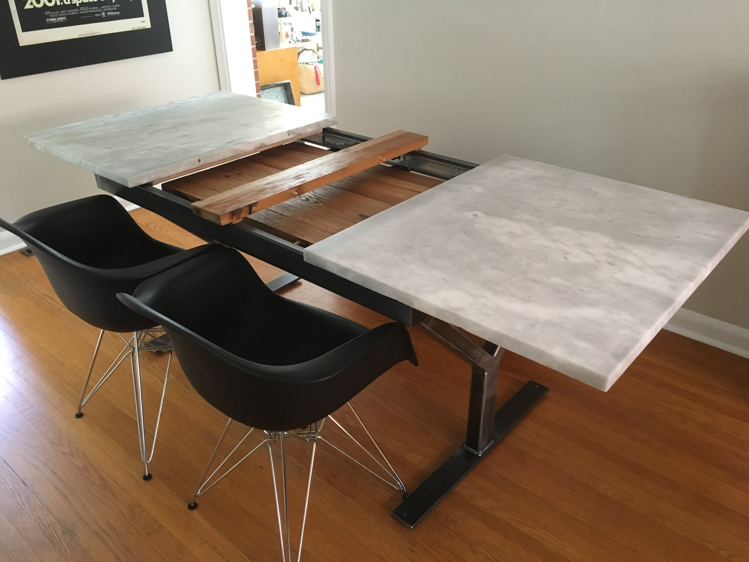 BMO Marble Extension Table