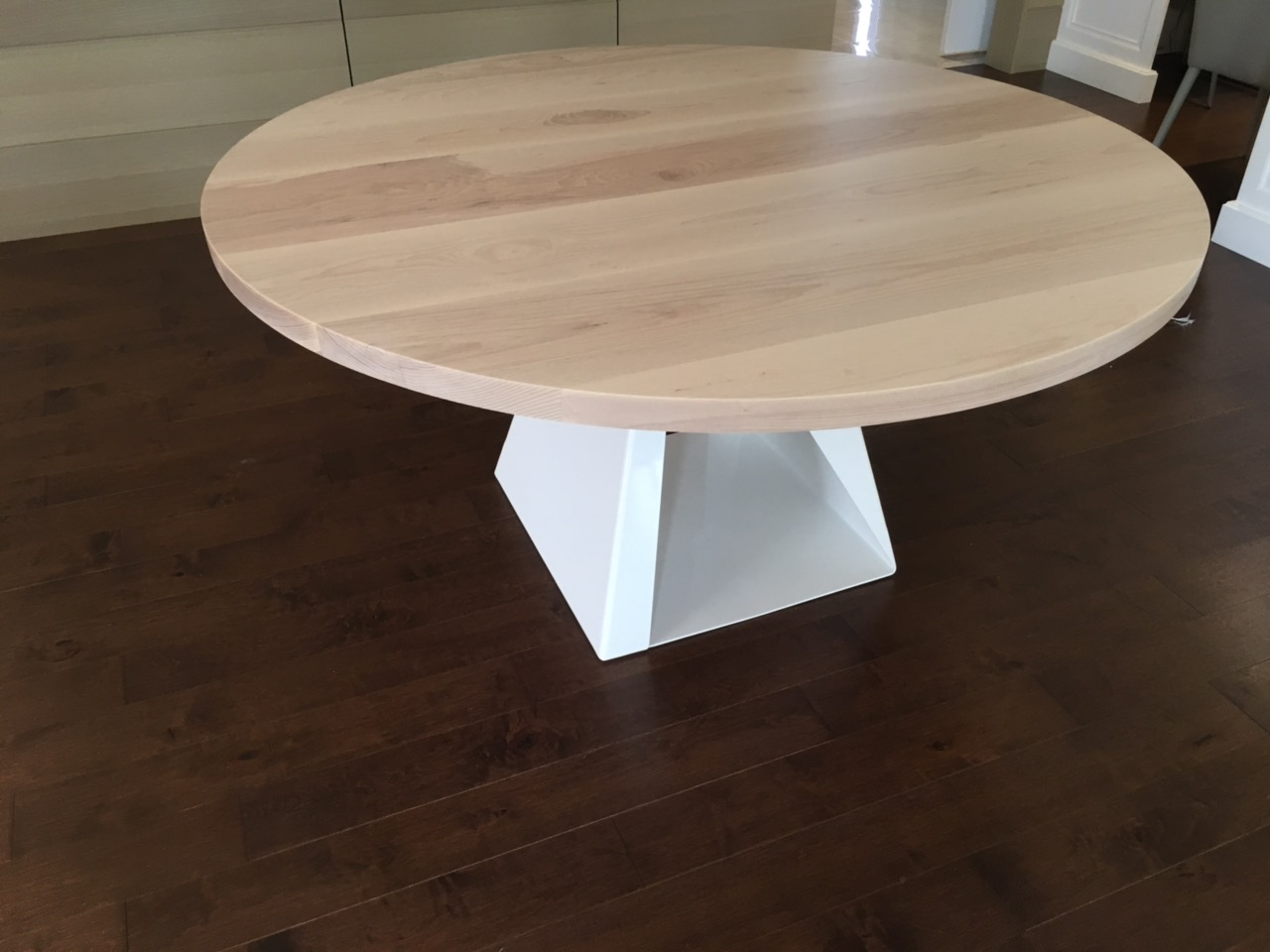 Custom Ash Dining Table