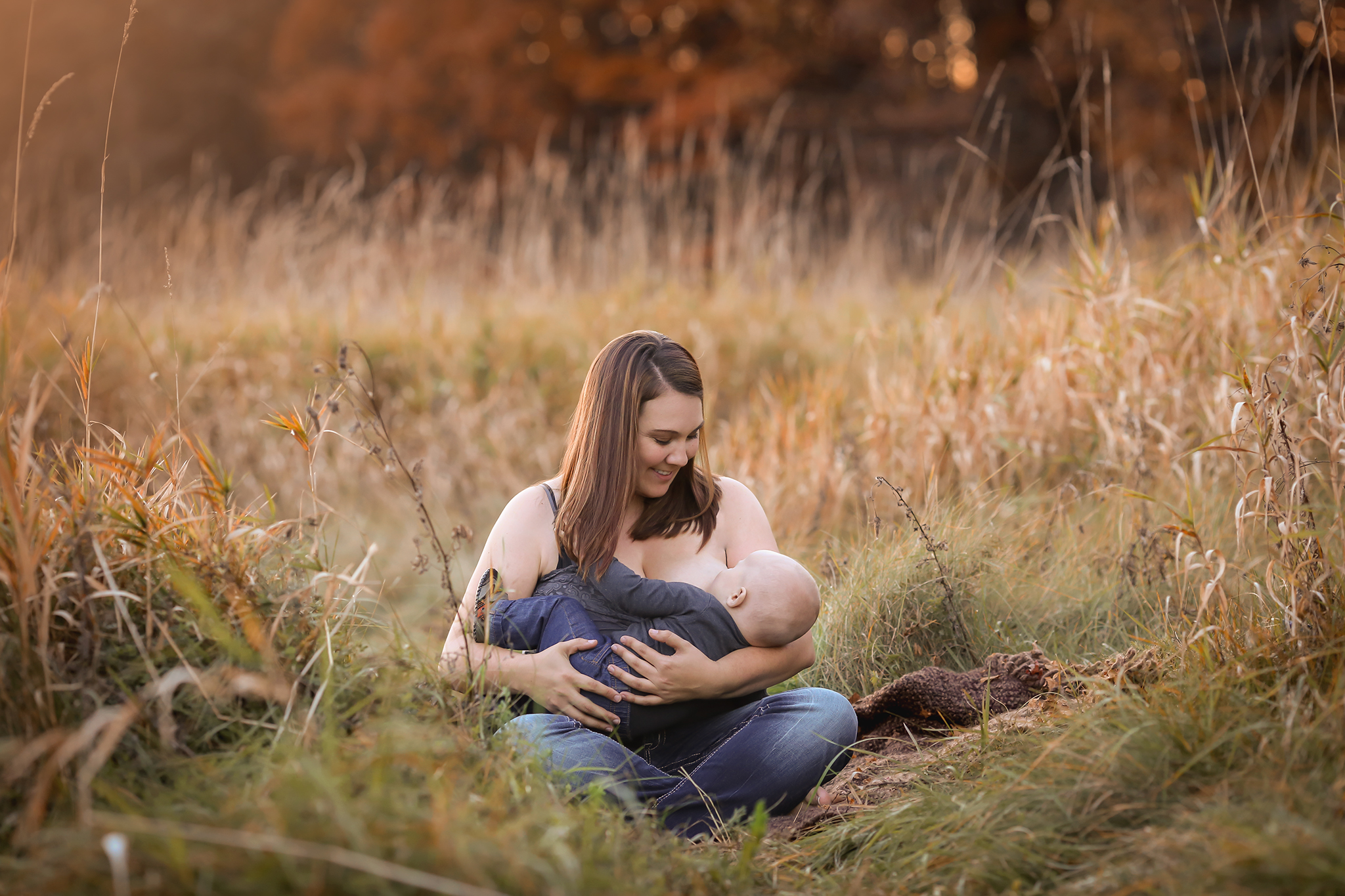 My second and most likely last nursling *cue mom sobs here* last fall  photo credit: Jess Krcmar Photography