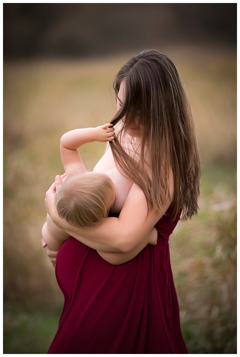 Nursling no. 1 with max as a baby bump!  Photo credit:  Jess Krcmar Photography