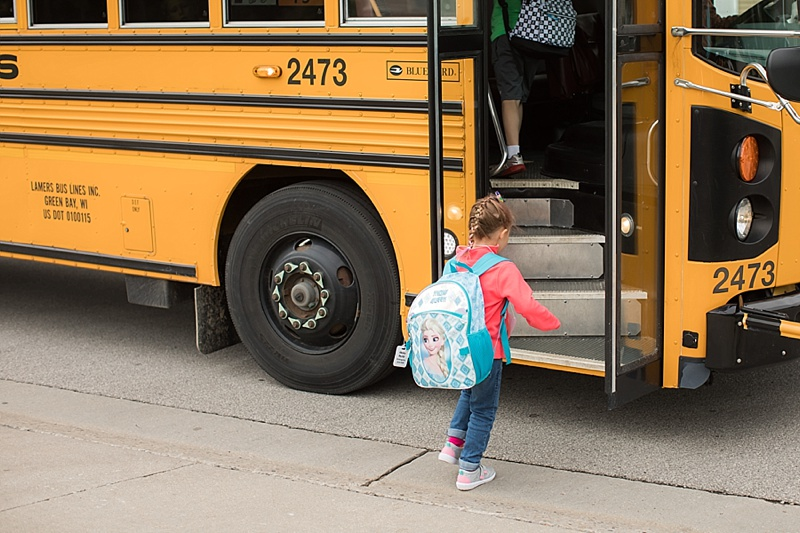 Little brother will be so jealous when he sees these photos.  He wants to go to kindergarten now so he can ride the bus.
