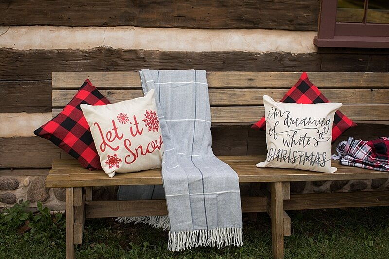 Our props and inspiration for our Rustic Cabin Sessions! I'm obsessed!