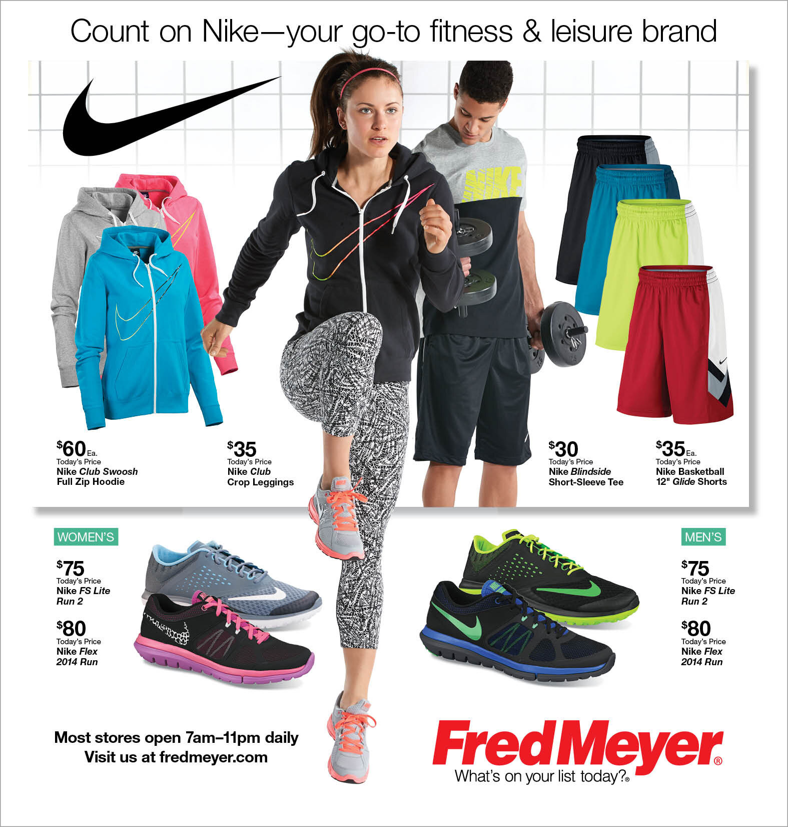 fred meyer nike shoes