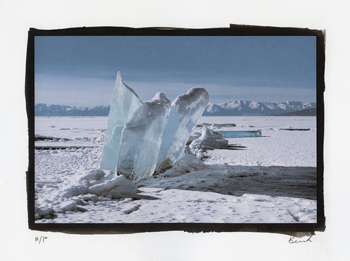 Print 1 - Upturned Ice, Mongolia, 2017