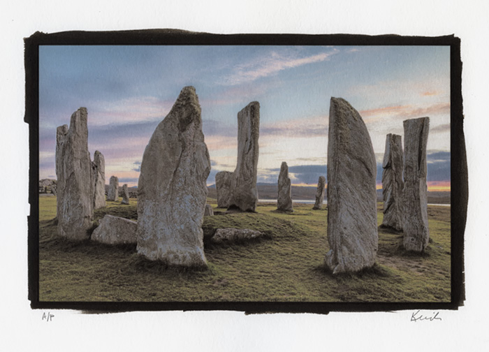 Print 3 - Standing Stones of Callanish, Lewis and Harris, Scotland, 2017