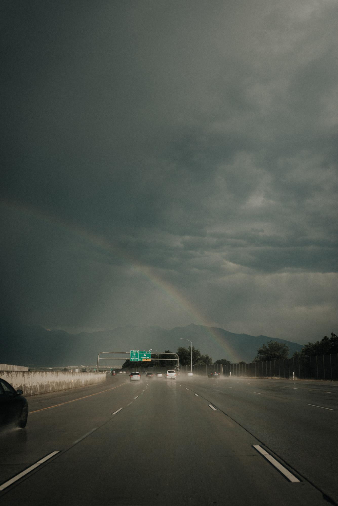 Salt Lake City rainbow
