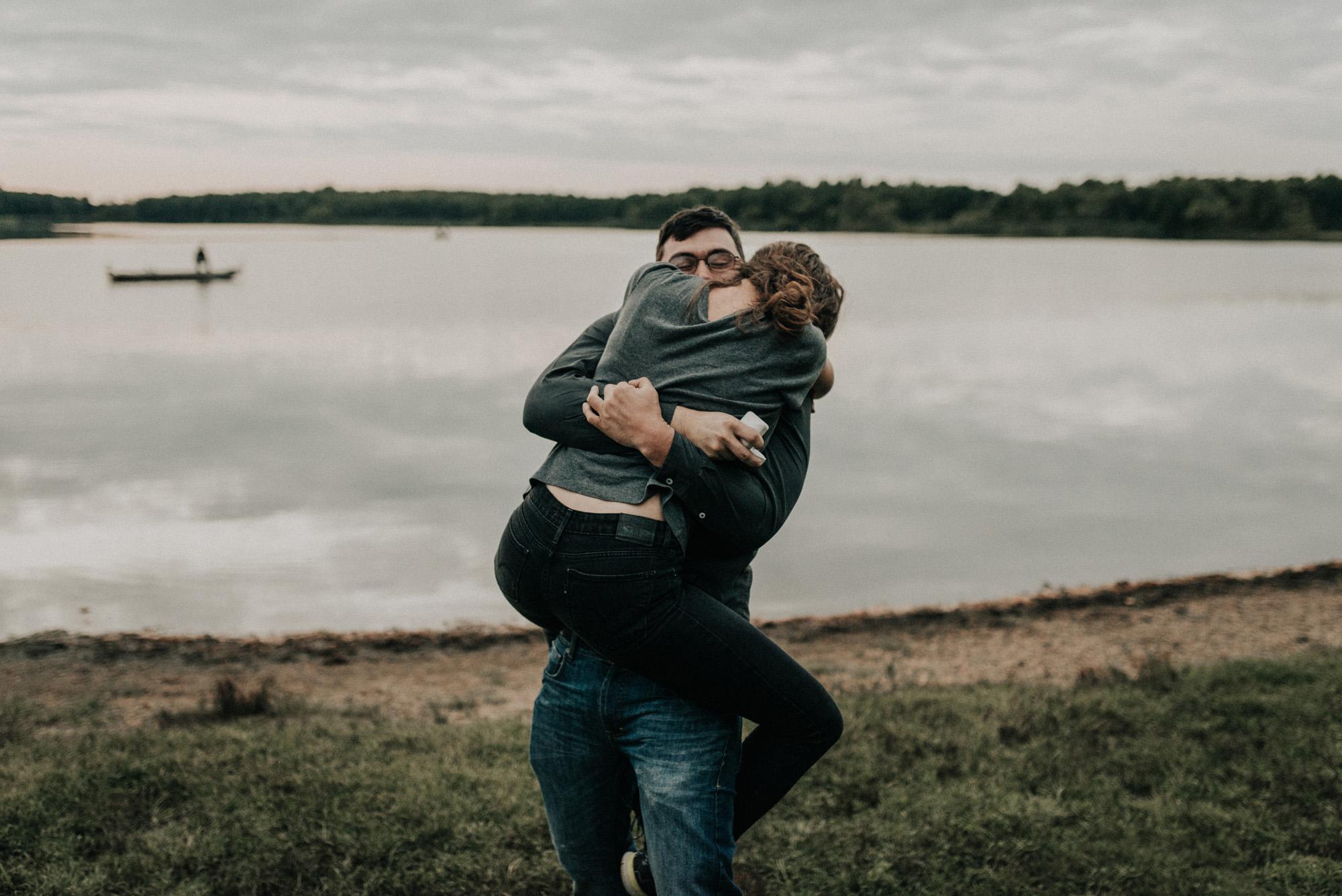 Assunpink Lake engagement photos KyleWillisPhoto
