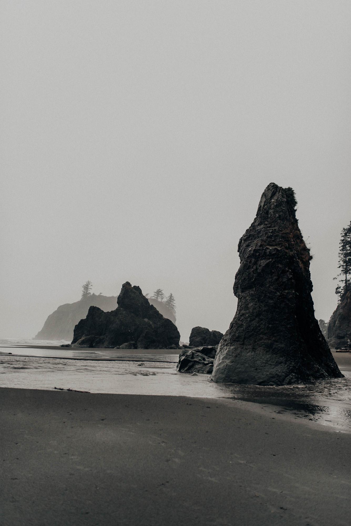 Ruby Beach Oregon Olympic National Park Washington KyleWillisPhoto