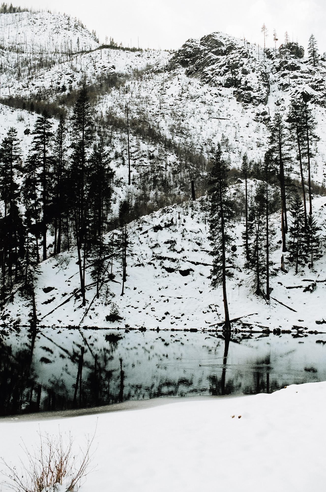Wenatchee National Forrest Leavenworth Washington KyleWillisPhoto Agfa Vista 400 Nikkormat FT2