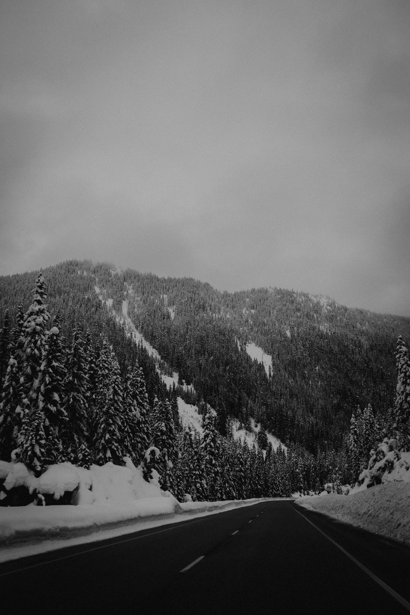 Stephen's Pass Mountain Resort Skykomish Washington KyleWillisPhoto