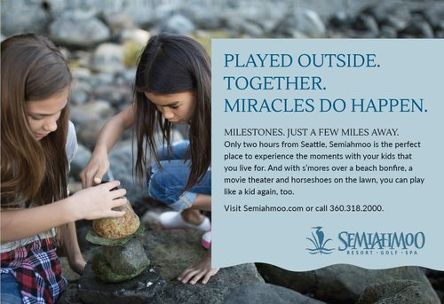 SEMIAHMOO RESORT: Print, Radio, OOH