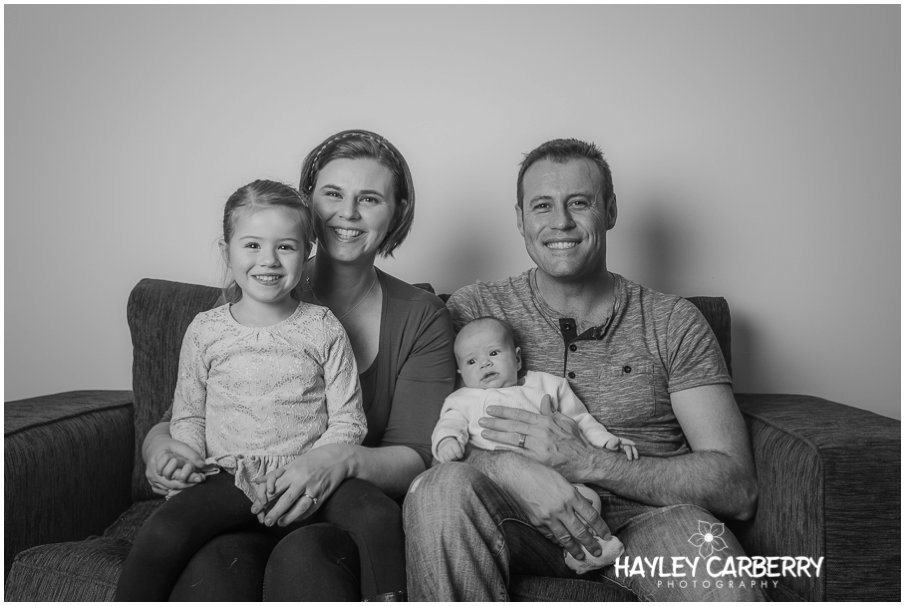 Canberra newborn lifestyle family session
