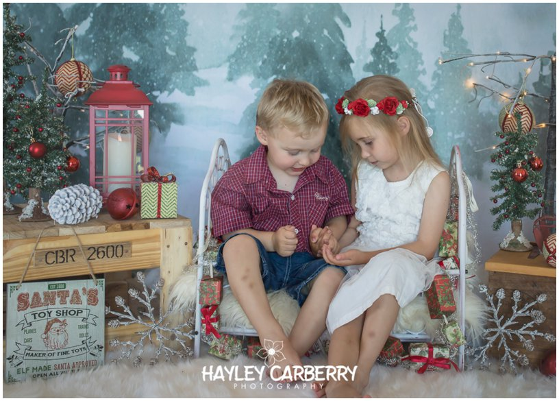 Canberra Christmas Portraits Photographer Babies Children Families