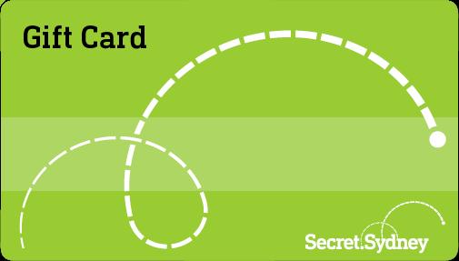 Secret-Sydney-Gift-Card