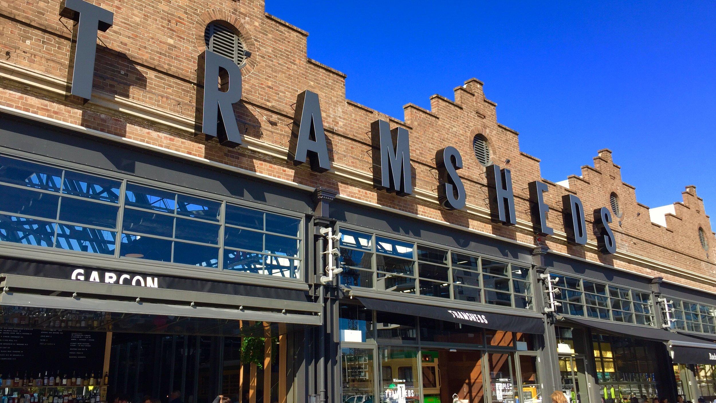Sydney's newest food destination, the Harold Park Tramsheds.
