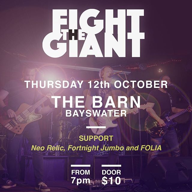 We're stoked to be playing back out in the 'burbs with some of Melbourne's finest local bands and artists. Join us on the 12th for a night of incredible music, energy and school-night beers 👀