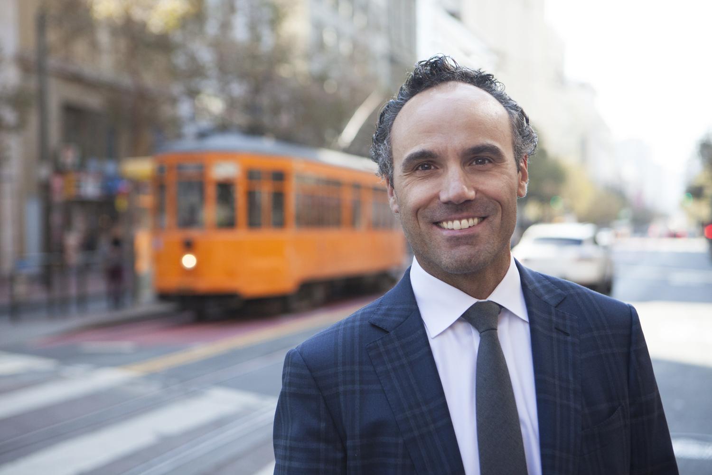 Portrait of attorney Jason Erlich in San Francisco