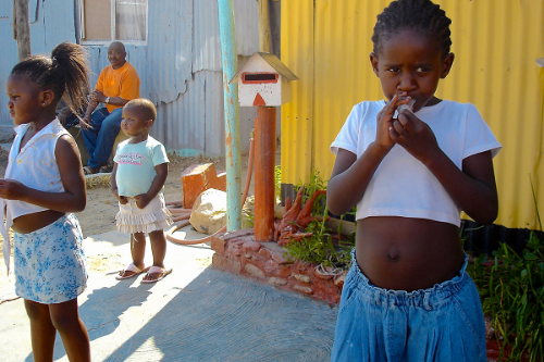 KHAYELITSHA TOWNSHIP, SOUTH AFRICA -