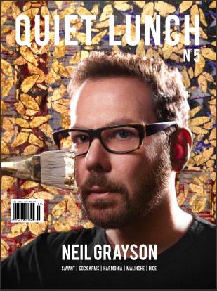 Quiet Lunch Magazine issue 5. -