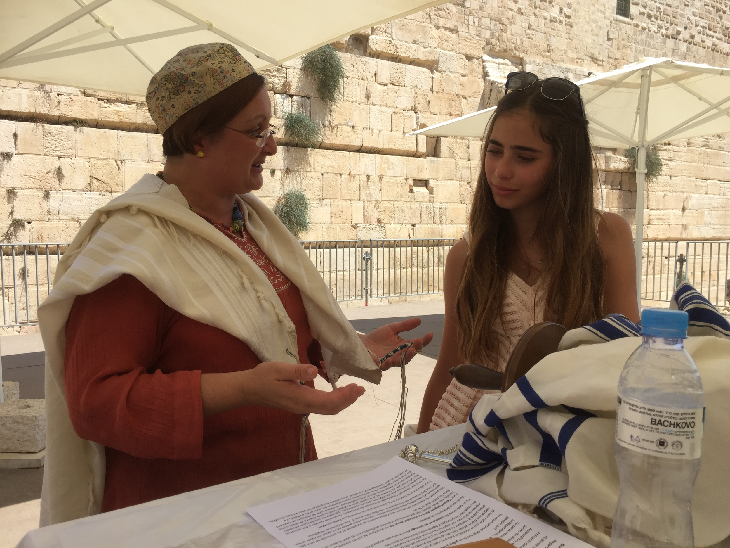 Bat Mitsvah at the Kotel (Western Wall)