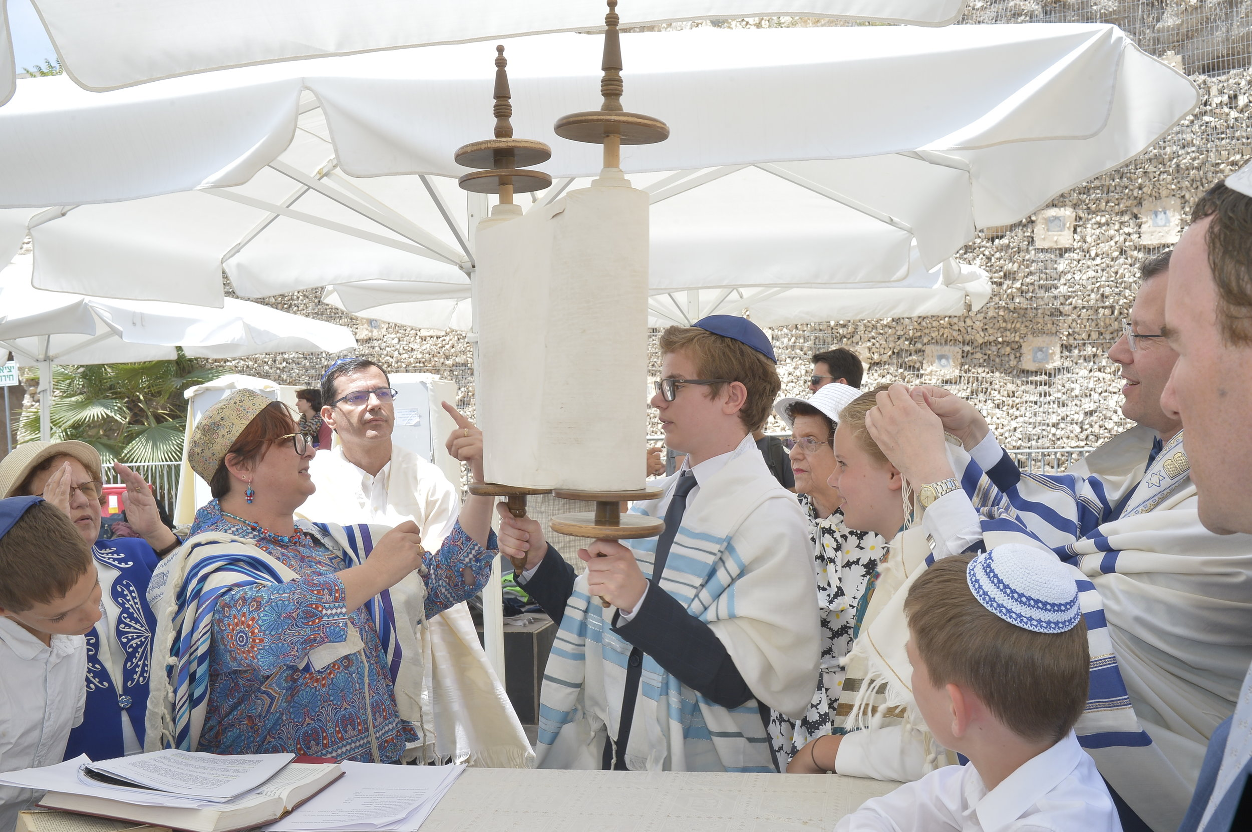 Holding the Torah