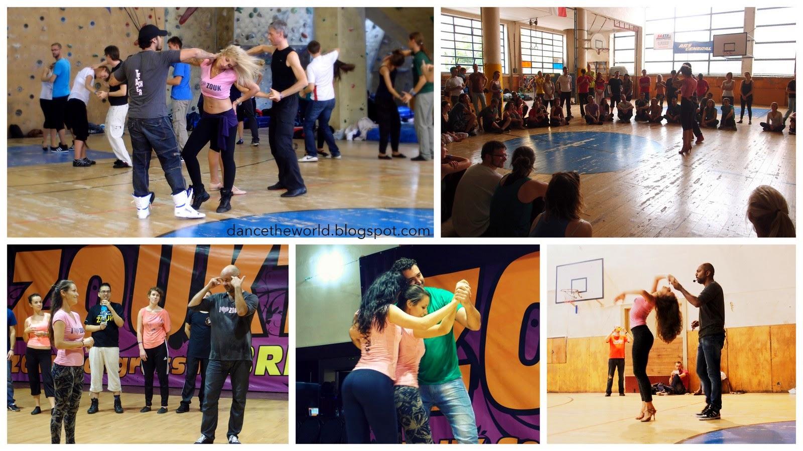 Memorable moments at Zouktime workshops...