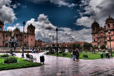Plaza de las Armas (like all the main squares seem to be called)