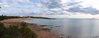 More of a port town than a beach town - yet there are still a couple beaches in Darwin