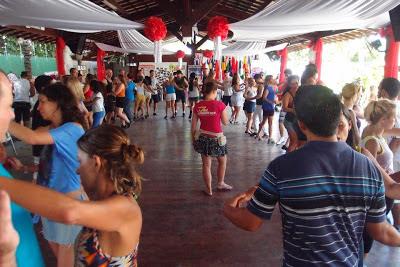 The main dance floor