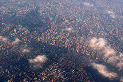 São Paulo from air (pic I took leaving the city)