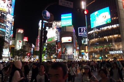 Shibuya crossing!