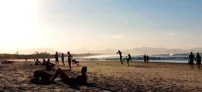 Afternoon in Byron Bay - beach life