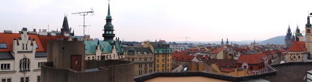View from the top floor of the congress site
